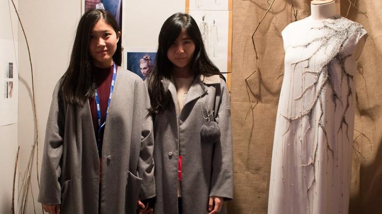 Dans les coulisses du Festival International des Jeunes Créateurs de Mode de Dinan : Rencontres .