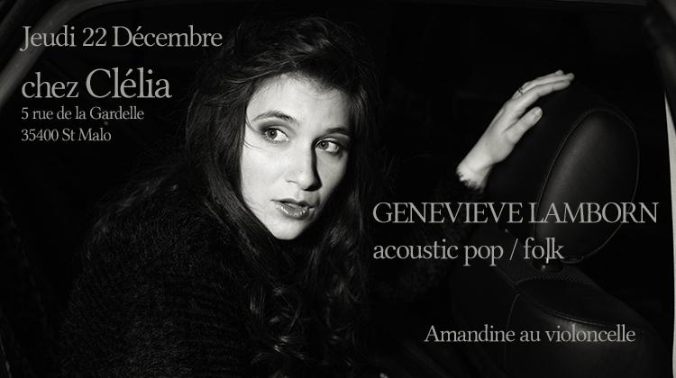 Geneviève Lamborn joue chez Clélia