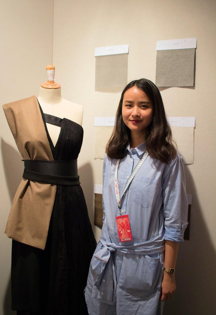 YELEI GAO au Festival des Jeunes Créateurs de Mode 2016 Dinan