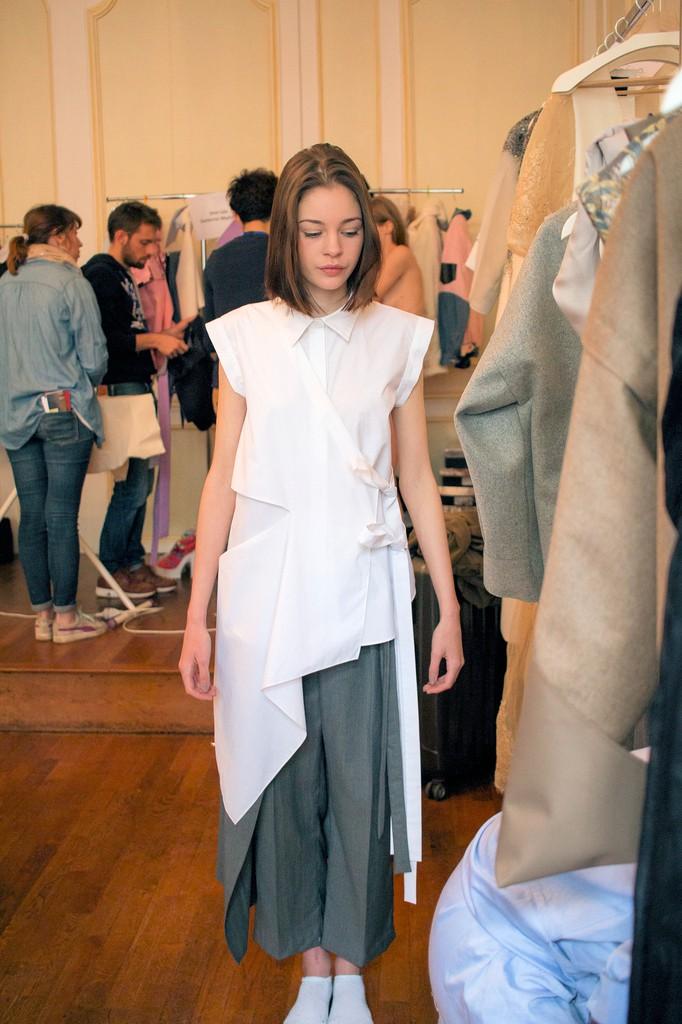 Modèle YELEI GAO Festival des Jeunes Créateurs de Mode 2016 Dinan