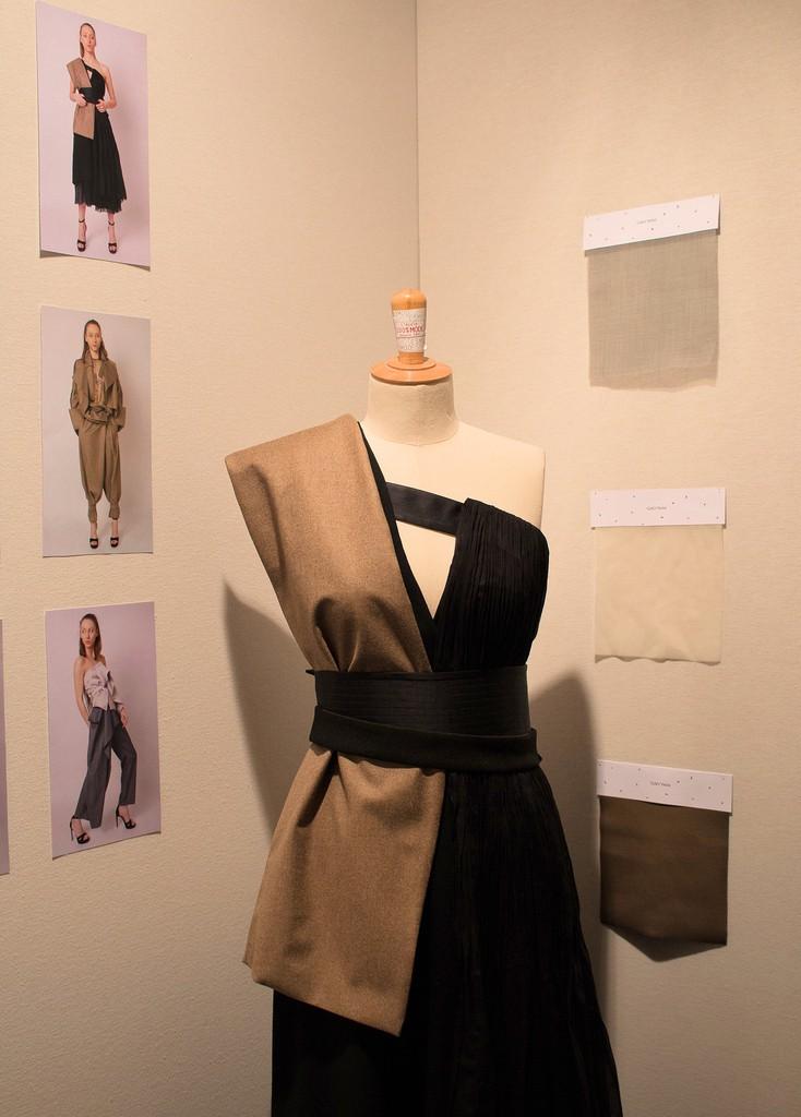 Modèle YELEI GAO présenté au Festival des Jeunes Créateurs de Mode 2016 Dinan